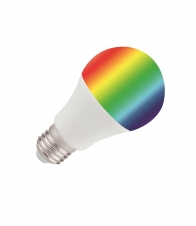 E27 9W RGB+WW IR 2557